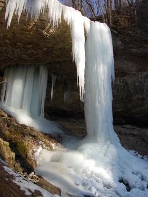 г. Горячий Ключ - Водопад на ручье Задубнова Караулка
