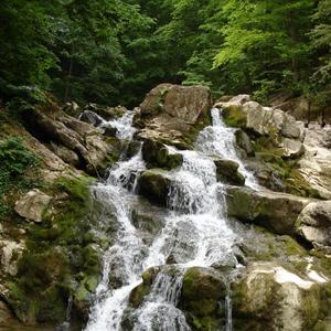 г. Горячий Ключ - Водопады реки Большая Собачка